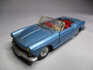 【送料無料】模型車 モデルカー スポーツカー プジョーカブリオレベルta066 dinky toys fr meccano 143 peugeot 404 cabriolet ref 528 bel etat