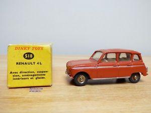 【送料無料】模型車 モデルカー スポーツカー #ルノーdinky toys vrai 518, renault 4 l  bo
