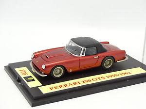 【送料無料】模型車 モデルカー スポーツカー フェラーリキットモンkit mont base fds 143 ferrari 250 gts 1959 1962 bleue ouvrante
