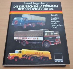 【送料無料】模型車 モデルカー スポーツカー ドイツクルップトラックdie deutschen lastwagen der sechziger jahre kaelble krupp magirus man podszun
