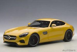 【送料無料】模型車 モデルカー スポーツカー メルセデスベンツグアテマラオレンジautoart 76314 118 mercedes benz amg gts 2015 yellow orange neu