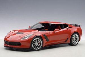 2014 silver chevrolet rims red 71262 c7 シボレーコルベットレッドシルバーリムautoart corvette neu z06 モデルカー 【送料無料】模型車 スポーツカー 118