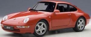 【送料無料】模型車 モデルカー スポーツカー ポルシェカレラautoart 78132 118 porsche 993 carrera 1995 red neu