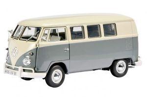 【送料無料】模型車 モデルカー スポーツカー バスサンバグレーグレーバスウィンドウvw bulli bus t1 samba 1959 1963 grau grey fensterbus schuco 118 neu