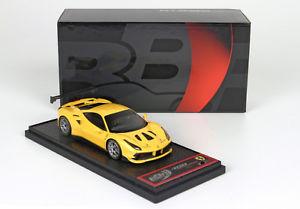 【送料無料】模型車 モデルカー スポーツカー フェラーリモデナチャレンジイエローferrari 488 challenge 2016 yellow modena 4305 143 bbrc197cb