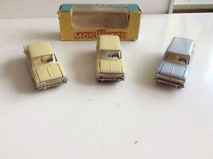 【送料無料】模型車 モデルカー スポーツカー サラトフノボロットneues angebotsaratov novoexport lot moskvitch 408 426 427 urss cccp