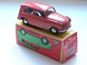 【送料無料】模型車 モデルカー スポーツカー ロイドヴァンピンクtekno 817 lloyd kombiwagen rosa reprobox