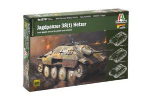 【送料無料】模型車 モデルカー スポーツカー タンクキットjagdpanzer 38t hetzer kit italeri 156 it15767