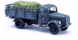 【送料無料】模型車 モデルカー スポーツカー ブッシュホトラックbusch ho 80081 militr lkw l 3000 a mit ladegut  ovp neu