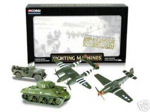 【送料無料】模型車 モデルカー スポーツカー ショーケースセットcorgi cscw19004 showcase military operation overlord set