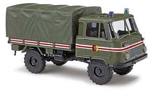 【送料無料】模型車 モデルカー スポーツカー busch 50228 187 h0 robur lo 2002a kommandantendienst schlussfahrzeug neu
