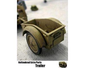 【送料無料】模型車 モデルカー スポーツカー ビスカラタラzoukeimura carrello per kettenkrad scala 132 codswps01m1