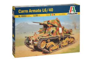 【送料無料】模型車 モデルカー スポーツカー キットcarro armato l640 kit italeri 135 it6553