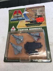 【送料無料】模型車 モデルカー スポーツカー 1989 kenner mega force die cast metal fighter bombers