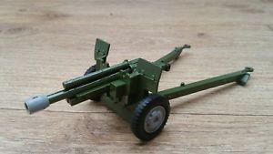 【送料無料】模型車 モデルカー スポーツカー バトルラインミントミリdinky toys battle lines 609 us 105mm howitzer by meccano ltd mint