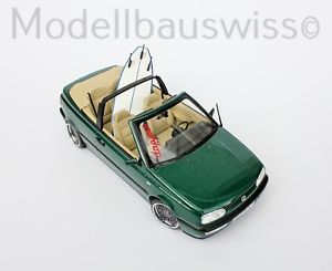 【送料無料】模型車 モデルカー スポーツカー フォルクスワーゲンフォルクスワーゲンゴルフカブリオレグリーンチューニングvolkswagen vw golf 3 cabriolet 1995 grn 118 tuning 1zu18