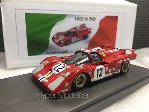 【送料無料】模型車 モデルカー スポーツカー モデルフェラーリチーム#ルマンmg model 143 ferrari 512m team nart 12 3th 24h le mans 1971 art 512m32