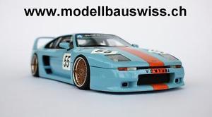 【送料無料】模型車 モデルカー スポーツカー トロフィーチューニングventuri 400 trophy 118 1zu18 tuning