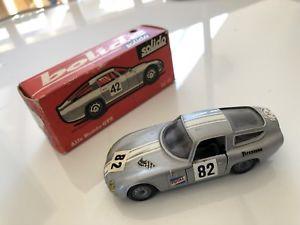 【送料無料】模型車 モデルカー スポーツカー アルファロメオジュリア#alfa romeo giulia tz 1 startnummer 82 solido 148