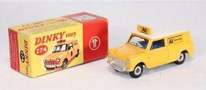 【送料無料】模型車 モデルカー スポーツカー ミニヴァンボックスミントdinky toys 274, aa mini van, mint in box        ab1642