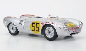 【送料無料】模型車 モデルカー スポーツカー ポルシェスパイダーカレラパナメリカーナporsche 550 spyder , 55, carrera panamericana, 118, autoart