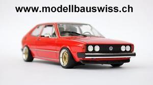 【送料無料】模型車 モデルカー スポーツカー チューニングvw sciroco 1 gti 118 1zu18 tuning umbau