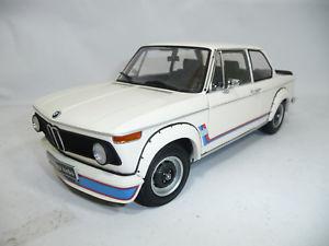 【送料無料】模型車 モデルカー スポーツカー シャモニターボbmw 2002 turbo e20 1973 chamonix white 118 kyosho 08542w very rare