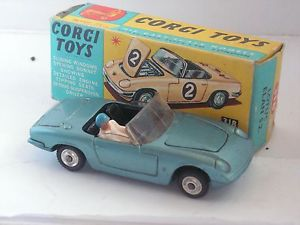【送料無料】模型車 モデルカー スポーツカー ロータスエランコーギーlotus elan s2 corgi 143 318