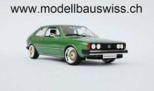 【送料無料】模型車 モデルカー スポーツカー チューニングvw sciroco 1 gti grn 118 1zu18 tuning umbau
