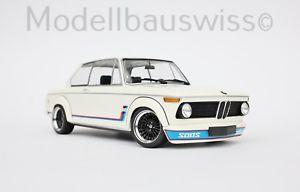 【送料無料】模型車 モデルカー スポーツカー アルピナターボホワイトチューニングモデルスイスbmw 2002 turbo 1973 weiss alpina 118 1zu18 tuning rar wwwmodellbauswissch