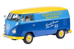 【送料無料】模型車 モデルカー スポーツカー バスvw bulli bus t1 transporter nrnberger nachrichten bulli nn schuco 118 neu