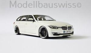 【送料無料】模型車 モデルカー スポーツカー シリーズツーリングアルパインホワイトチューニングリムbmw 3er series touring f31 2012 alpine white 118 1zu18 118 tuning umabu felgen