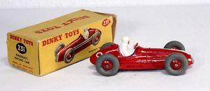 【送料無料】模型車 モデルカー スポーツカー ボックス#マセラティマセラティレースカーミントdinky toys 231, maserati racing car, mint in box        ab1638