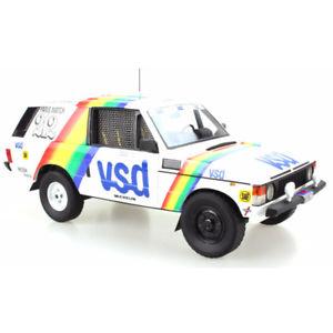 【送料無料】模型車 モデルカー スポーツカー レンジローバーパリダカールラリートップマルケスrange rover paris dakar vsd winner 1981 118 tmpd01a top marques