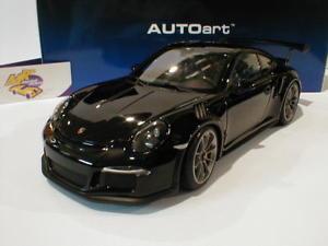 【送料無料】模型車 モデルカー スポーツカー ポルシェグアテマラブラックグロスautoart 78164 porsche 911 991 gt3 rs bj 2015 schwarzglnzend 118 neu