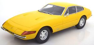 【送料無料】模型車 モデルカー スポーツカー グアテマラフェラーリデイトナイエロー112 gt spirit ferrari 365 gtb daytona yellow