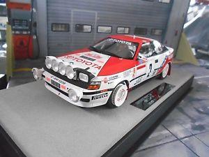 【送料無料】模型車 モデルカー スポーツカー トヨタセリカモンテカルロラリー#レプソルトップマルケスtoyota celica st 165 rallye monte carlo 2 sainz repsol 1991 n top marques 118