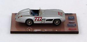 【送料無料】模型車 モデルカー スポーツカー モスミッレミリア#スカラブリアンツァmerceds srl mossjenkinson mille miglia 1955 722 scala 143 abc brianza