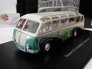 【送料無料】模型車 モデルカー スポーツカー ホワイトバスschuco pror 09006 saurer 3ch omnibus bachmann baujahr 1951 weigrn 143