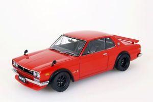 【送料無料】模型車 モデルカー スポーツカー スカイラインバージョンレッドnissan skyline gtr kpgc10 tunet version rot autoart 118 neuovp