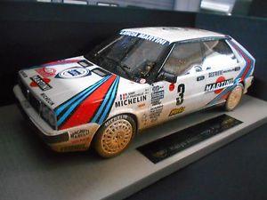 【送料無料】模型車 モデルカー スポーツカー ランチアデルタモンテカルロラリー#サビーマティーニトップマルケスlancia delta hf rallye monte carlo 1988 3 saby martini dirty top marques 118