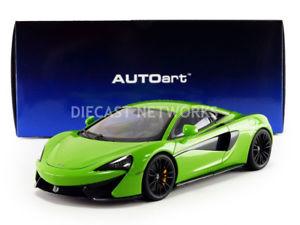 【送料無料】模型車 モデルカー スポーツカー マクラーレンautoart 118 mclaren 570s 76042