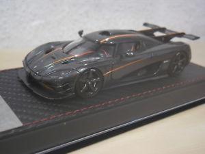 【送料無料】模型車 モデルカー スポーツカー フロントオレンジfrontiart koenigsegg one1 carbon orange nr f03813 143
