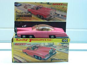 【送料無料】模型車 モデルカー スポーツカー レディペネロペボックスdinky gb 100 lady penelope´s fab1 in box