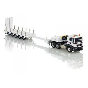 【送料無料】模型車 モデルカー スポーツカー コンラッドトラックポルトconrad 150 camion man tgs 3 essieux avec portechar 5 essieux transport cardem