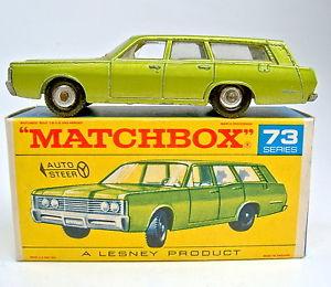 【送料無料】模型車 モデルカー スポーツカー マッチボックスマーキュリーベースプレートmatchbox rw 73c mercury mit seltener 1968 mercury bodenplatte in f box