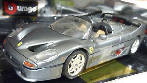 【送料無料】模型車 モデルカー スポーツカー フェラーリモデルカラーbburago 118 ferrari f50 grigio titanio modell 5998 color edition ovpa707