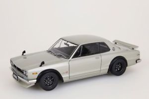 【送料無料】模型車 モデルカー スポーツカー スカイラインバージョンシルバーnissan skyline gtr kpgc10 tunet version silber autoart 118 neuovp