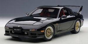 【送料無料】模型車 モデルカー スポーツカー マツダautoart mazda fini rx7fd 1991 tuned version briliant schwarz 118 75968