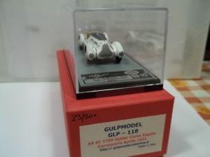 【送料無料】模型車 モデルカー スポーツカー モデルアルファロメオスパイダーコルサgulp model sc143 alfa romeo 6c 1750 spyder corsa zagato